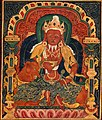 God of Fire, Agni, of the Medicine Buddha Mandala - Google Art Project (cropped).jpg