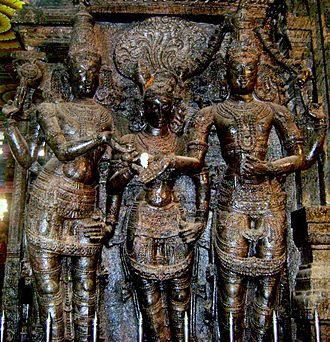 Madurai Nayak dynasty - Lord Vishnu Hands over his Sister to Lord Siva