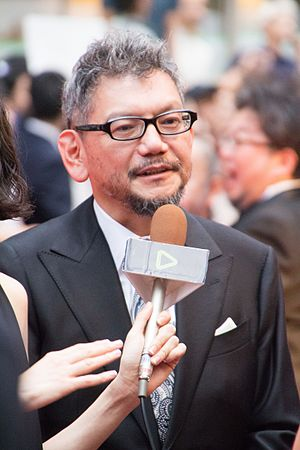 Hideaki Anno - Anno at the premiere of Shin Godzilla in 2016