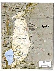 Golan heights rel89B