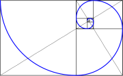 Golden spiral in rectangles.svg