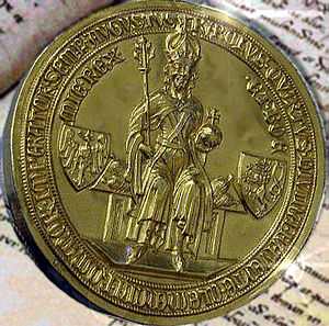 Charles IV, Holy Roman Emperor - The Golden Bull of 1356