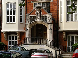 Young British Artists - Goldsmiths College, Millard Building, in Camberwell, where many of the YBAs met on the BA Fine Art, in the late 1980s