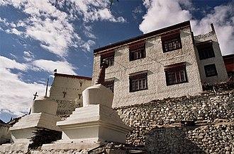 Phyang Monastery - Image: Gompa Phyang 4