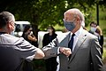Gov. Wolf Thanks Penn State Health Milton S. Hershey Medical Center Staff During Visit (50043125783).jpg