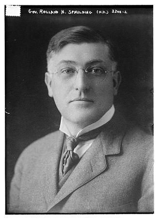 Rolland H. Spaulding - Image: Governor Spaulding