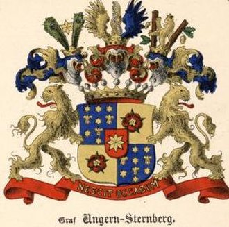 Ungern-Sternberg - The comital arms
