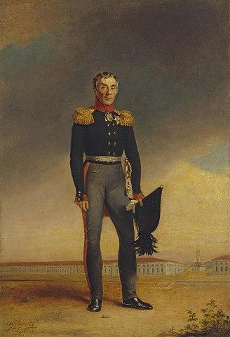портрет работы Дж. Доу, 1823, ГРМ