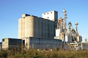 Orangeburg County, South Carolina - Image: Grain elevator 1283