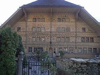 Rossinière - Grand Chalet