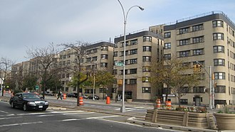 Grand Concourse (Bronx) - Art Deco apartment buildings along Grand Concourse.