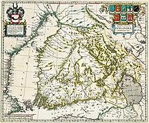 フィンランド-歴史-Grand duchy of finland 1662