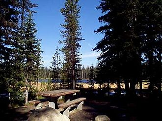 Wallowa–Whitman National Forest - Grande Ronde Lake Campground has eight campsites