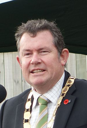 Mayor of Palmerston North - Mayor Grant Smith in July 2015