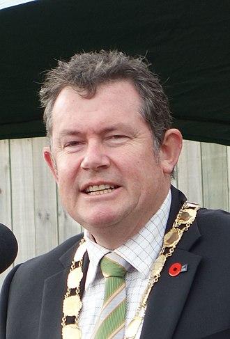 Mayor of Palmerston North - Mayor Grant Smith in July 2015