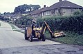 Grass verge cutting, South Benfleet - geograph.org.uk - 1513787.jpg