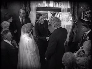 Greed (film) - The wedding scene made innovative use of deep-focus cinematography, despite challenges with the lighting.