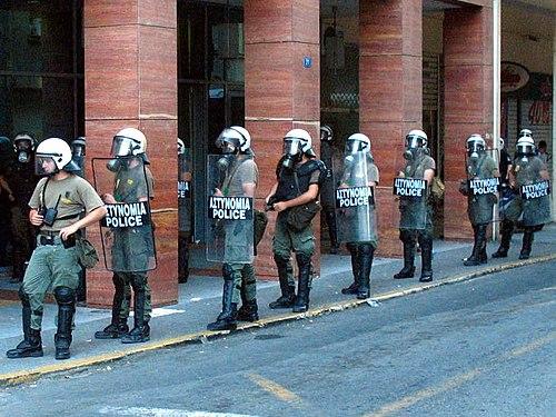 Greek riot police 1
