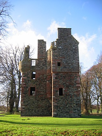 Gordon, Scottish Borders - Greenknowe Tower