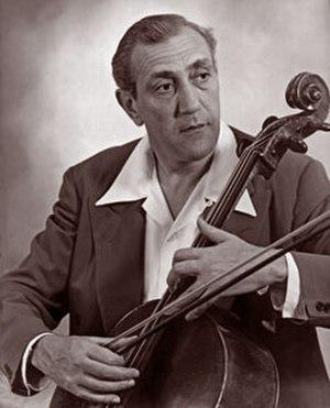 Gregor Piatigorsky - Piatigorsky in 1945