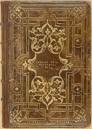 Jean Grolier de Servières - A Grolier binding, in his earlier style