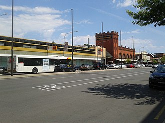 Grote Street, Adelaide - Grote Street near Central Market