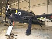 Grumman F8F-1 Bearcat at the Royal Thai Air Force Museum