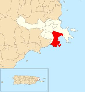 Guayacán, Ceiba, Puerto Rico Barrio of Puerto Rico