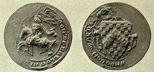 Guy de Beauchamp, 10th Earl of Warwick - Image: Guy 2