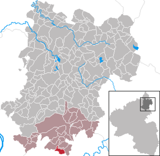 Hübingen Place in Rhineland-Palatinate, Germany
