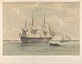 H.M.S. Caledonia, 120guns, lying in Plymouth Sound - RMG PY0771.jpg