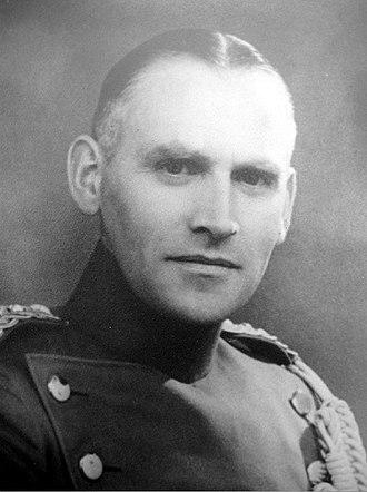 Hans Lunding - Lunding in 1932