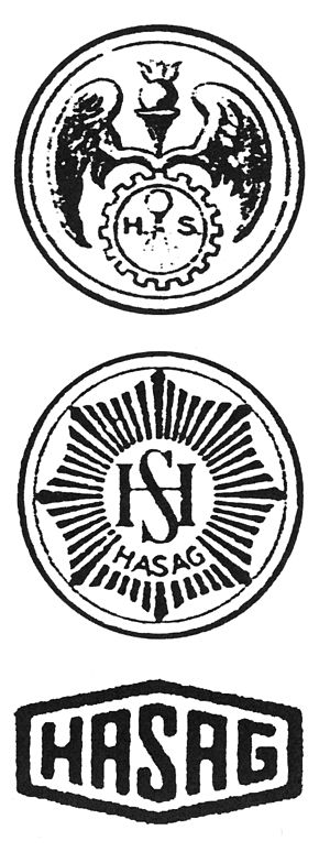 HASAG - HASAG logos
