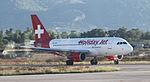HB-JOH Germania Flug Airbus A319-112 at Zakynthos.jpg
