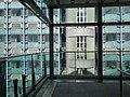 HKU MTR Station lift tower glass fence view Pokfulam Road 香港大學 嘉道理生物科學大樓 Kadoorie Biological Sciences Building July 2016 DSC.jpg