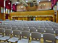 HK 福建中學 FSS FKSSch Fukien Secondary School grand hall interior row grey plastic chairs Sept 2016 DSC 04.jpg