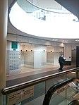 HK 荃灣郵政局 Tsuen Wan Post Office n Government Office interior mailboxes n escalators Jan 2017 Lnv2.jpg