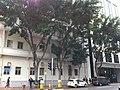 HK CWB Tung Lo Wan Road St Paul's Hospital facades sidewalk trees Jan-2013.JPG
