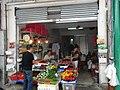 HK Central 12 Graham Street vegetable shop Aug-2012.JPG