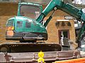 HK STT Woo Hop Street Work Site Machine Logistics 1.JPG