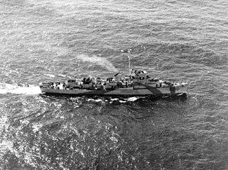 HMS Bayntun (K310) - Image: HMS Bayntun FL1627