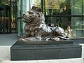 HSBC Lion at the right hand side of the entrance.jpg
