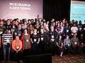 Hackathon Group Photo, Wikimania 2018,Cape Town (P1050658).jpg