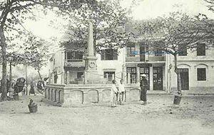 Hải Dương - La ville de Hải Dương, Vers1900