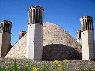 Shahdad City in Kerman, Iran