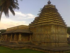 Kadamba architecture - Bhuvaraha Narasimha temple Halasi, Karnataka