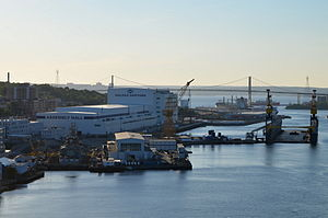 Irving Shipbuilding - The modernized Halifax Shipyard in 2015.