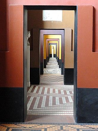 Thorvaldsen Museum - Image: Hallway Thorvaldsens Museum DSC08659