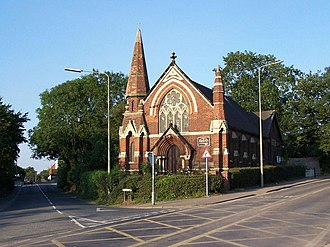 Handsacre - Image: Handsacre Methodist Church geograph.org.uk 204068