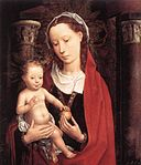 Hans Memling - Standing Virgin and Child - WGA14983.jpg